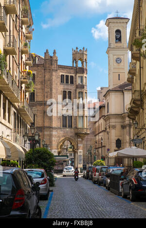 Architecture and buildings in Turin, Piedmont, Italy - Stock Image
