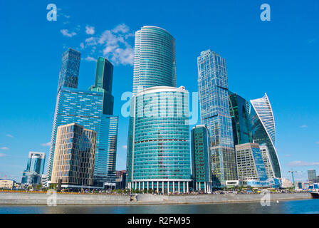 MIBC, Moscow International Business Center, Moscow City, Moscow, Russia - Stock Image