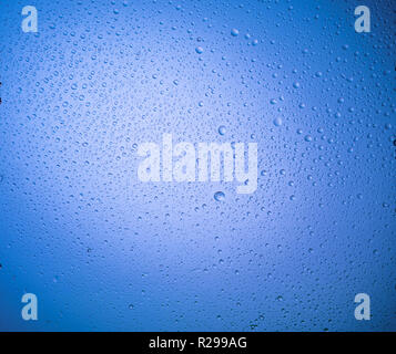 Water drops background - Stock Image