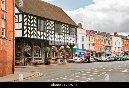 Market Hall, or House, Ledbury in Herefordshire - Stock Image