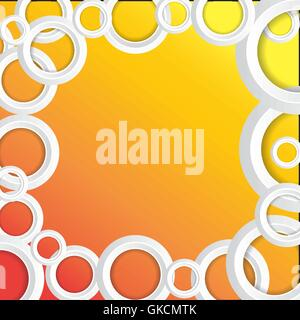 Circles Background - Stock Image