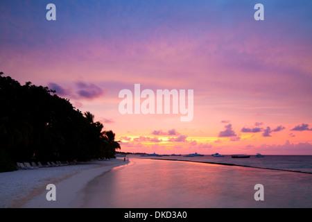 Kuramathi Island Resort, Maldives. - Stock Image
