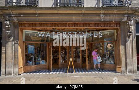 Waterstones bookshop cambridge - Stock Image