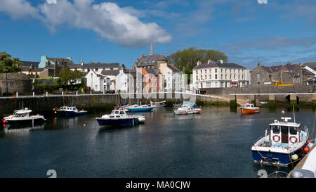 RS 8012  The Harbour, Castletown, Isle of Man, UK - Stock Image