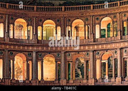 Italy Emilia Romagna Parma Museum Pole of the Pilotta - the Theater Farnese - Stock Image