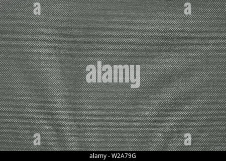 Rough gray fabric texture for background and design - Stock Image