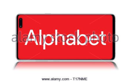 Alphabet logo - Stock Image