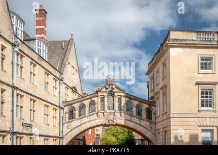 Bridge of Sighs Oxford - Stock Image