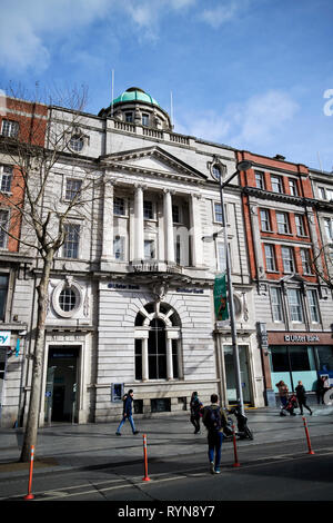 The Ulster Bank building former hibernian bank on 3-4 oconnell street Dublin Republic of Ireland Europe - Stock Image