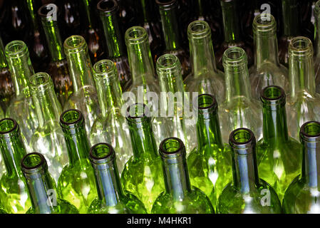 Wine Bottle - Stock Image