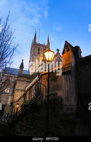 Southwark Cathedral, Southwark, London, England, UK - Stock Image