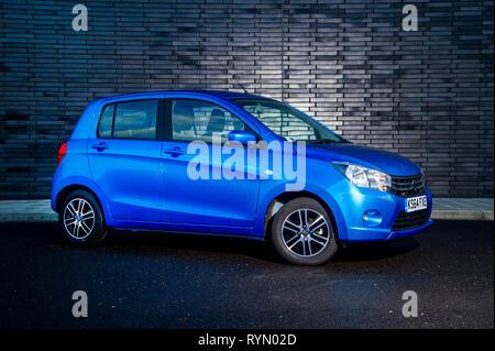 2014 Suzuki Celerio compact Japanese  car - Stock Image