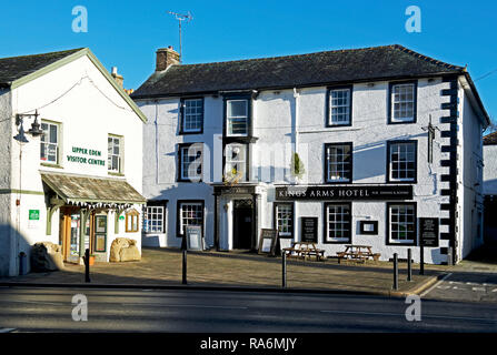 The Kings Arms Hotel, Kirkby Stephen, Cumbria England UK - Stock Image