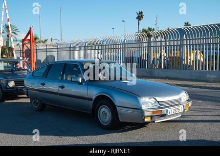 1986 Citroen CX. Retro Málaga 2019. Spain. - Stock Image