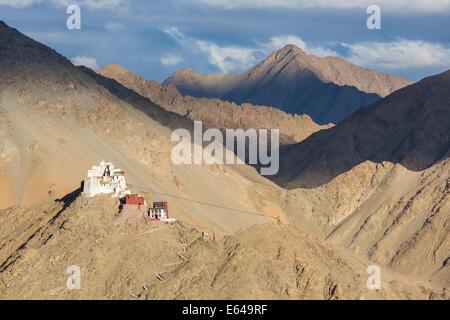 Namgyal Tsemo Gompa, Leh, Ladakh - Stock Image