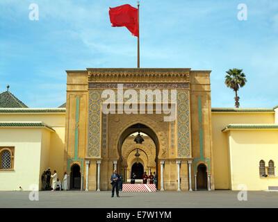 The Royal palace of Rabat - Stock Image