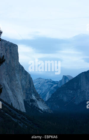 Yosemite Valley. Yosemite National Park, Mariposa County, California, USA - Stock Image