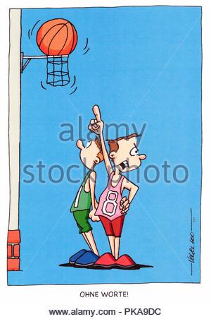 streetball - Stock Image