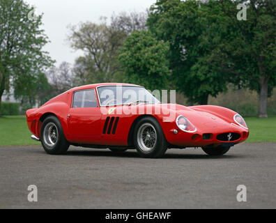 1962 Ferrari 250 GTO scaglietti berlinetta 3 0 litre tipo 168 62 V12 SOHC engine producing 302bhp Country of origin - Stock Image
