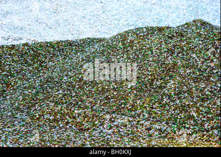 Recycling glass - Stock Image