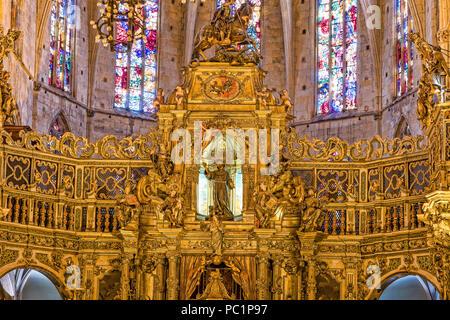 Sant Francesco basilica in  Palma de Mallorca - Stock Image