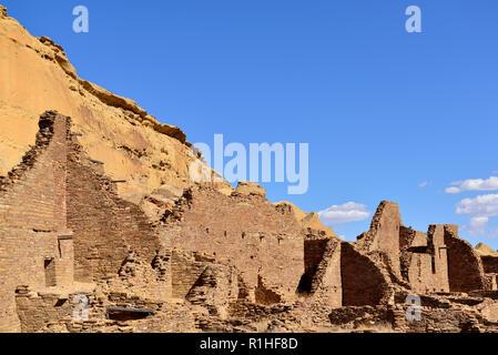 Pueblo Bonito, Chaco Canyon, Chaco Culture National Historical Park, New Mexico, USA 180926_69523 - Stock Image
