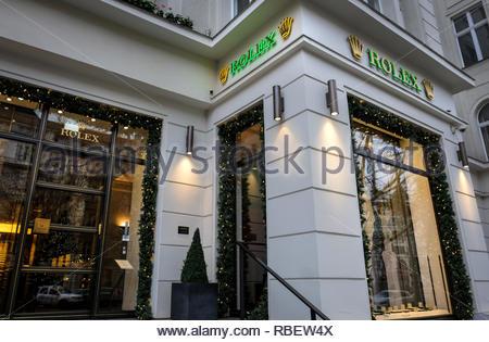 Rolex store - Stock Image