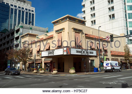 The Egyptian Theatre, on Main Street in Boise, Idaho, USA. - Stock Image