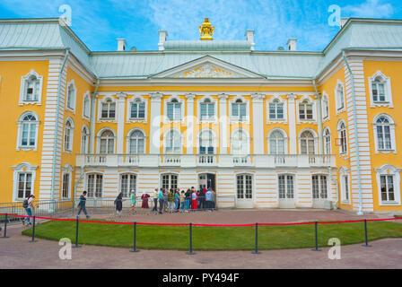 Grand Palace, Peterhof, near Saint Petersburg, Russia - Stock Image