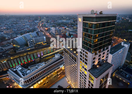view from upper west building over berlin, berlin , germany - Stock Image