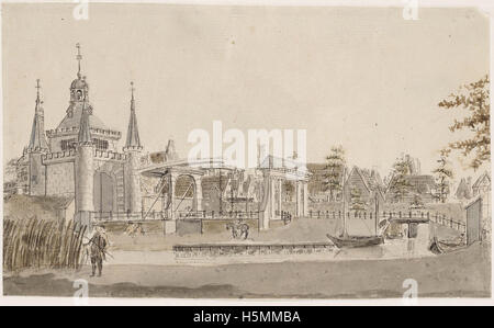 Friese Poort 1788 258 - Stock Image