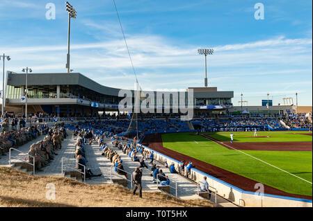 First home game at new baseball park for University of Kentucky baseball team - Stock Image