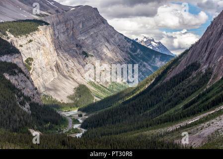 Rocky Mountains, Jasper National Park, Alberta, Canada - Stock Image