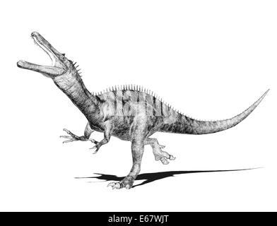 Dinosaurier Suchomimus / dinosaur Suchomimus - Stock Image