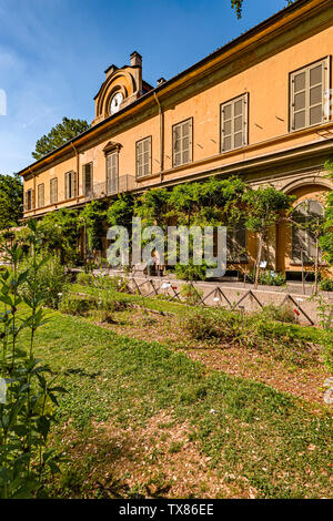 Italy Piedmont Turin Valentino botanical garden - Stock Image