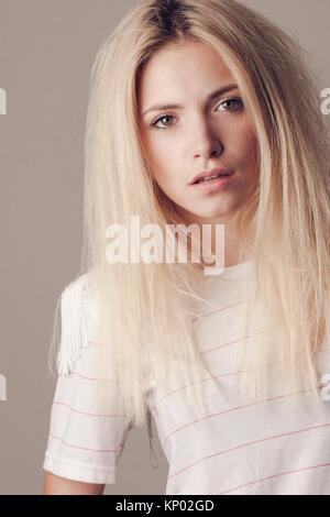 beautiful woman - Stock Image