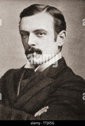 David Lloyd George, 1st Earl Lloyd-George of Dwyfor, 1863 – 1945.  British statesman, Liberal Party politician and Prime Minister of the United Kingdom. From The Pageant of the Century, published 1934. - Stock Image