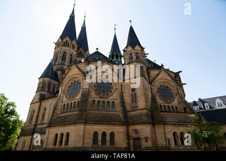 The Ringkirche (Ring Church) in Wiesbaden, the state capital of Hesse, Germany. - Stock Image