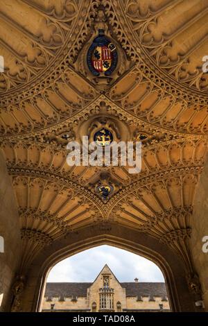 University College, Oxford, UK - Stock Image