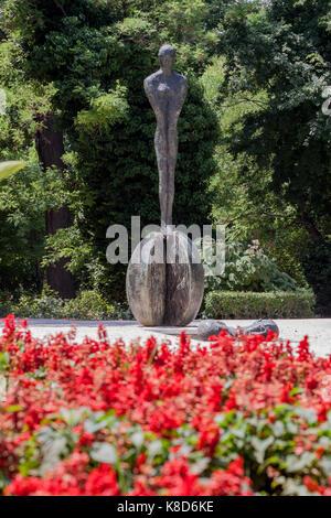 National Gardens Athens Greece - Stock Image