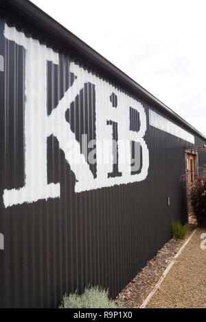 Exterior view of the recently established Kangaroo Island Brewery on North Coast Road, South Australia, Australia. - Stock Image