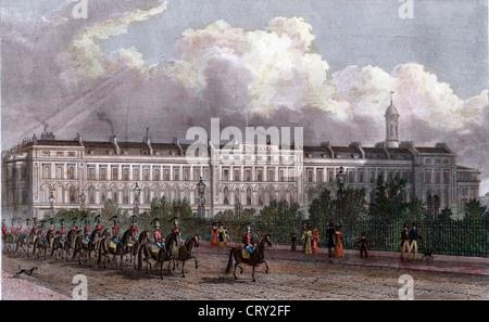 Daguerre's Diorama, Regents Park, London, 1829, by Tho H Shepard - Stock Image