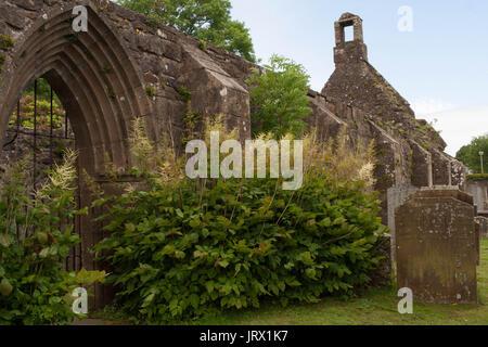 Old Kirk, Kirkoswald, Ayreshire - Stock Image
