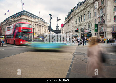 London Piccadilly Circus - Stock Image