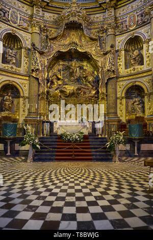 Sacra Capilla del Salvador. Úbeda, Jaén, Andalusia, Spain. - Stock Image