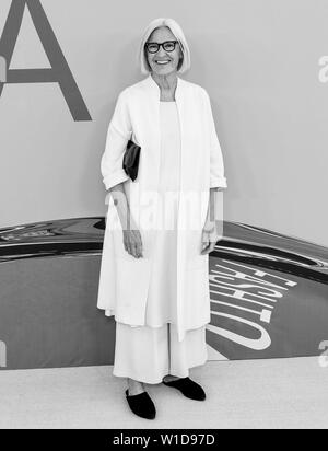 New York, NY - June 03, 2019: Eileen Fisher attends 2019 CFDA Fashion Awards at Brooklyn Museum - Stock Image