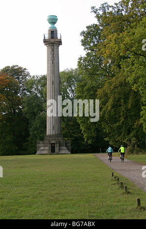 The Bridgewater Monument, Ashridge, Herfordshire, UK - Stock Image