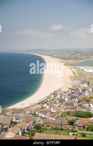 Chesil Beach Portland, Dorset, UK. - Stock Image