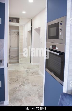 interior, apartment renovation, construction, renovation - Stock Image