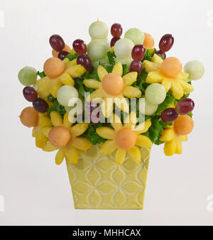 Fruit Flowers Bouquet - Stock Image